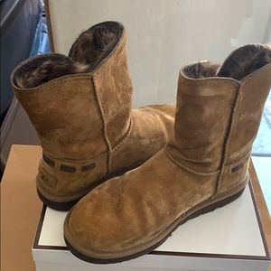 Brown Ugg Ankle style boots
